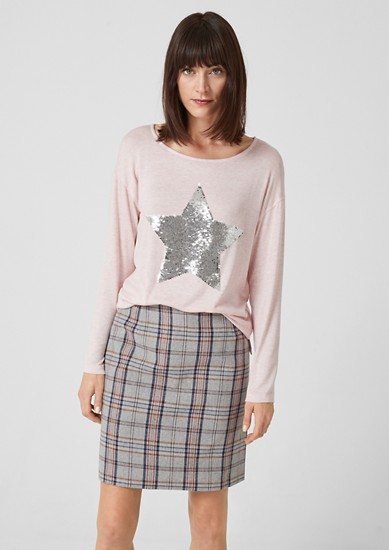 Prince of Wales skirt from s.Oliver