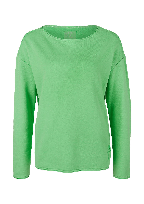 s.Oliver - Sweatshirt mit Rollkanten - 4