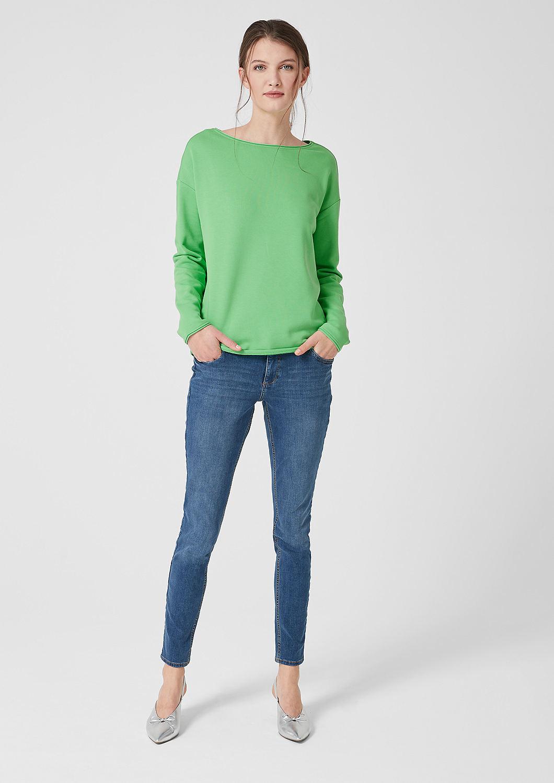 s.Oliver - Sweatshirt mit Rollkanten - 2
