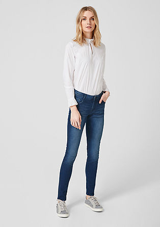 Shape superskinny: denim met band