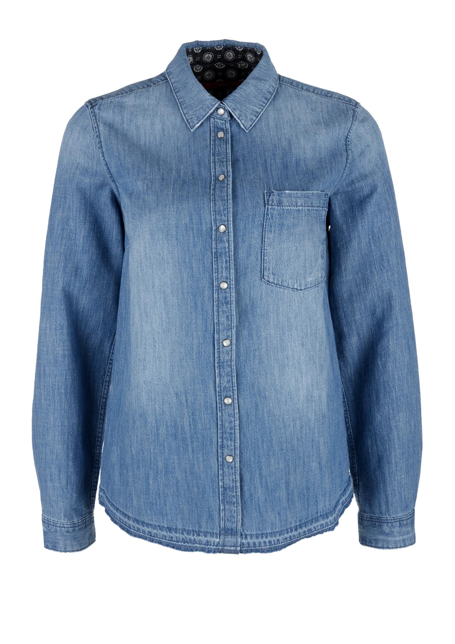 Jeansbluse   Bekleidung > Blusen > Jeansblusen   s.Oliver
