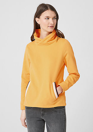 Felpa-Sweatshirt mit Turtleneck