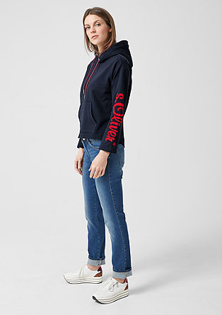 Mehak sweatshirt pulover s kapuco