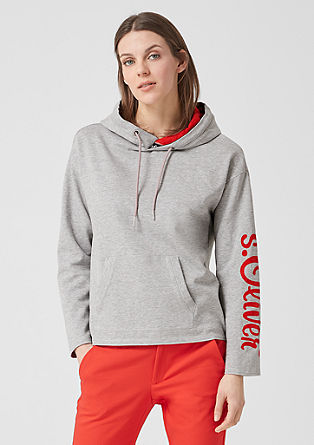Cosy hooded sweatshirt from s.Oliver