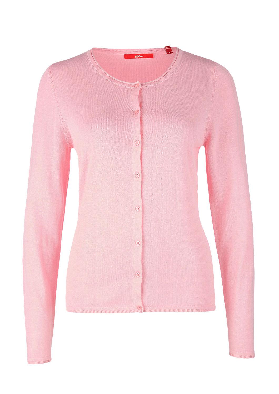 sale store delicate colors Klassischer Cardigan aus Feinstrick kaufen   s.Oliver Shop