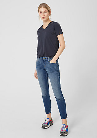 Shape ankle: Stretchjeans