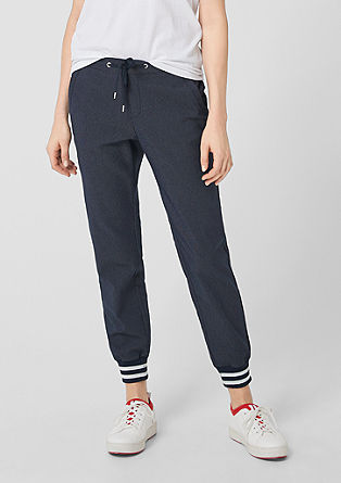 Smart chino: Joggingbroek