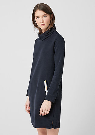 Sweatshirt dress with turtleneck collar from s.Oliver