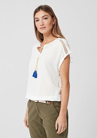 Tunikové tričko vetno stylu