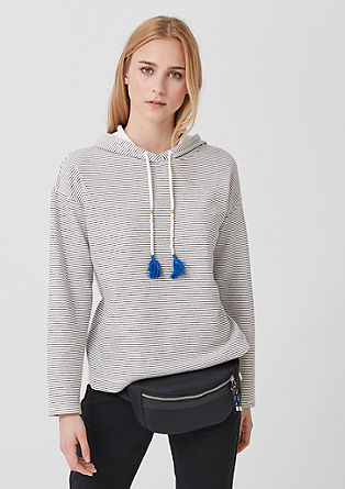 Striped hoodie from s.Oliver