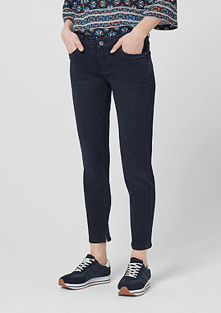 Shape Ankle: Jeans with embroidery from s.Oliver