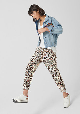 Broek met print all-over