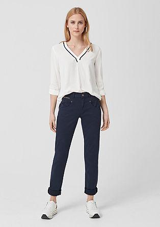 Shape slim: coloured jeans