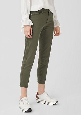 Shape Ankle: keprové kalhoty