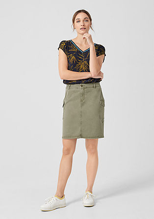 Skirt in a cargo style from s.Oliver