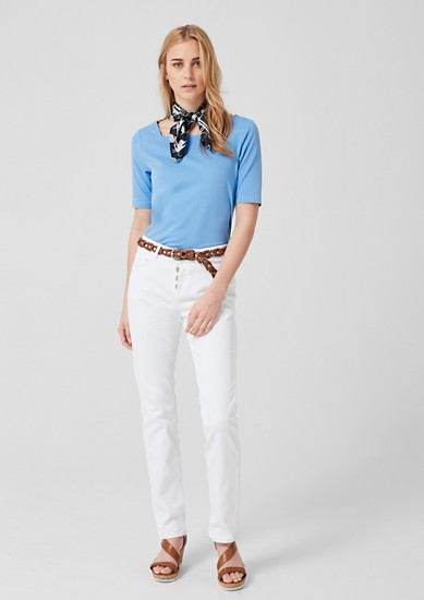 Square-neck tee from s.Oliver