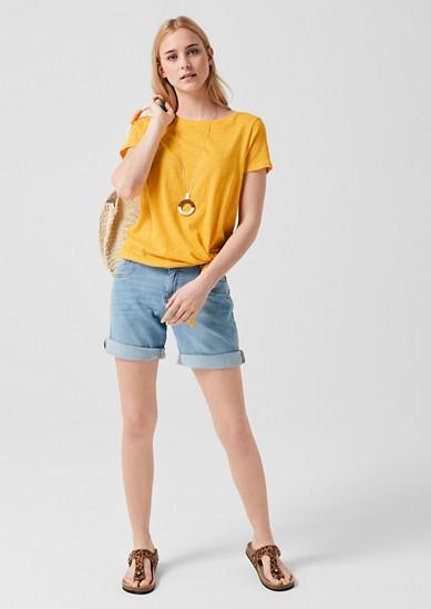 Jerseyshirt mit Knoten-Detail