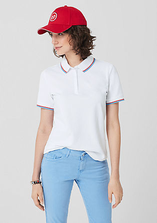 Jersey polo shirt from s.Oliver