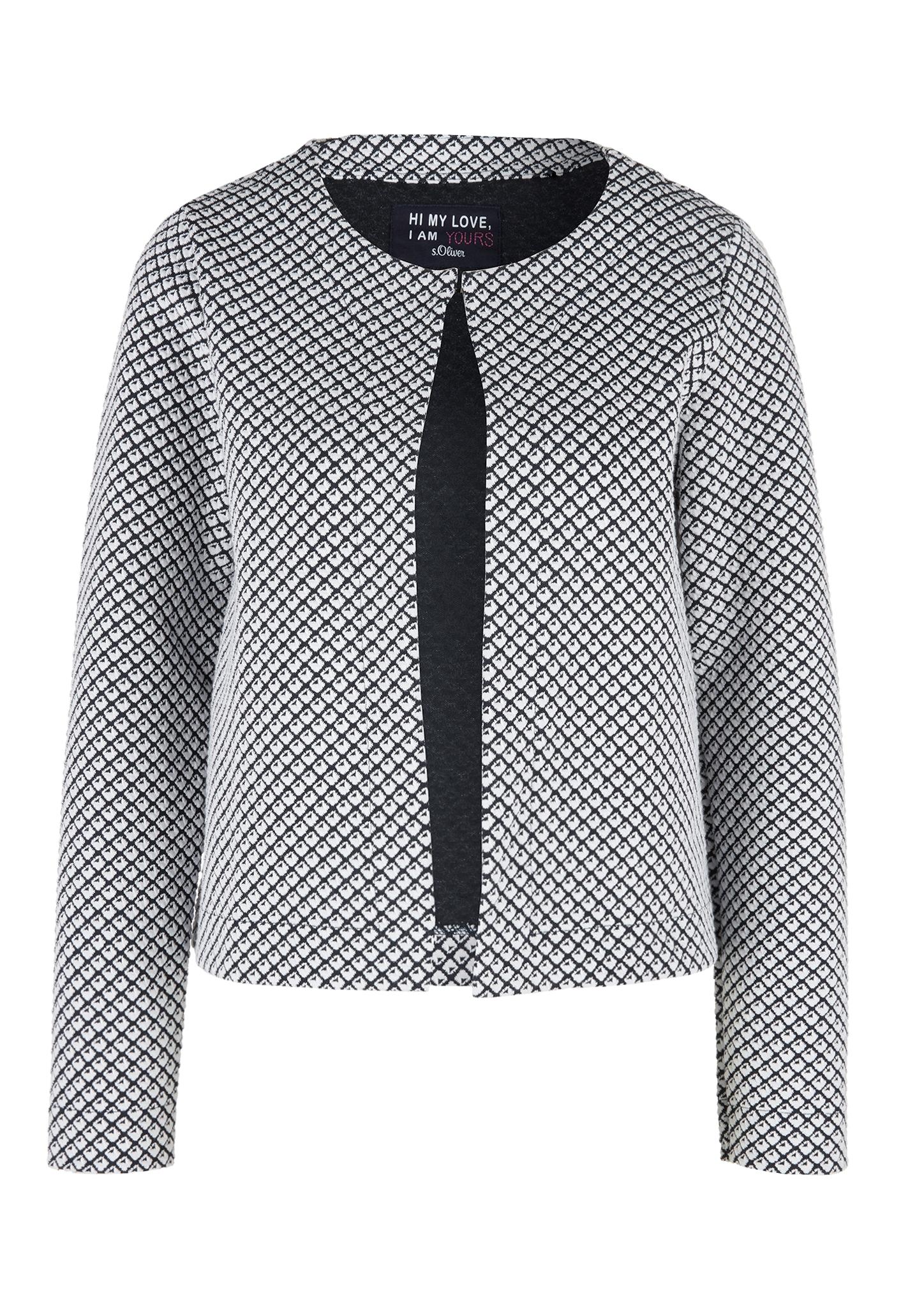 Sweatjacke | Bekleidung > Sweatshirts & -jacken > Sweatjacken | s.Oliver