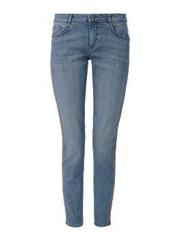 Shape Ankle: Jeans mit Kontraststreifen kaufen | s.Oliver Shop