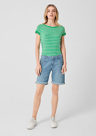Smart Bermuda: vintage-style shorts from s.Oliver
