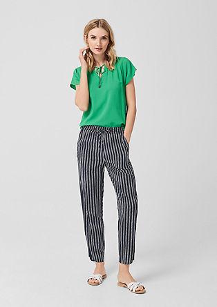 Smart Chino: látkové kalhoty s potiskem