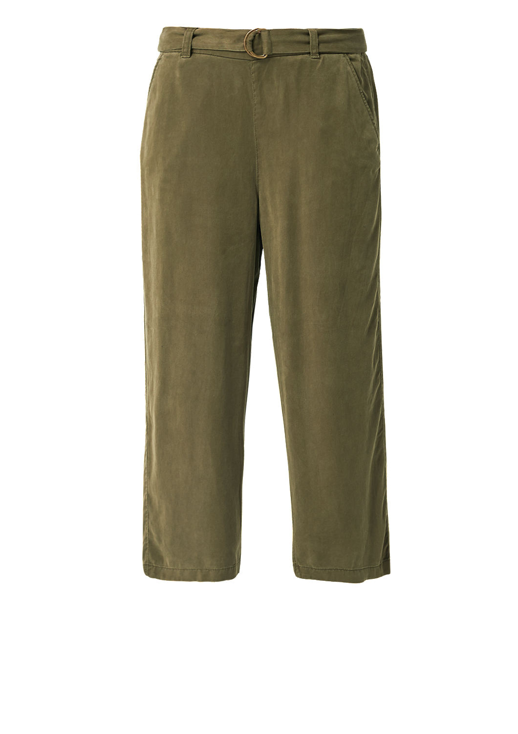 s.Oliver - Culotte: Twillhose aus Lyocell - 4