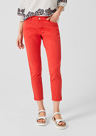 Shape ankle: coloured jeans