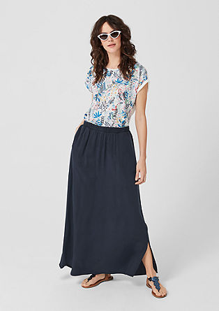 Lyocell maxi skirt from s.Oliver