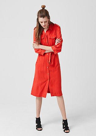 Srajčna obleka iz liocela