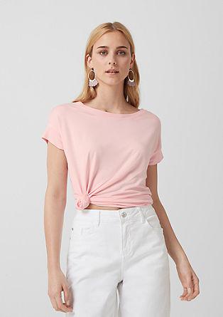 Leichtes Basic-Shirt aus Jersey