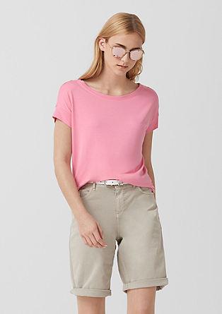 T-shirt basique léger en jersey de s.Oliver