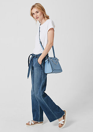 Smart Wide: Flared jeans from s.Oliver