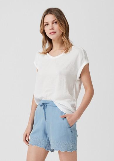 Smart Short: Light Denim-Shorts