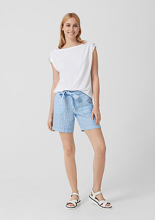 Smart Short: Leichte Leinenhose