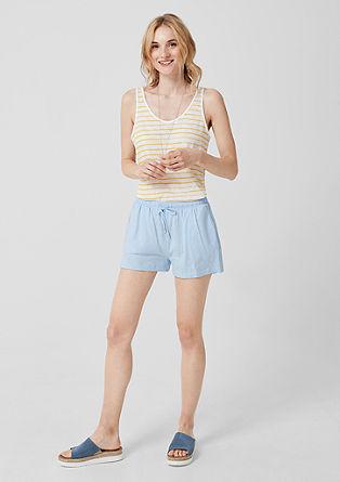 Kratke hlače iz džersija s čipko