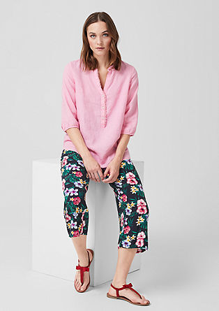Culottes: Lightweight printed trousers from s.Oliver