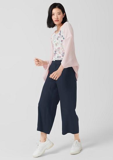 Jupe-culotte: pantalon en lyocell texturé de s.Oliver