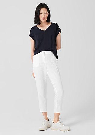 Shape Ankle: pantalon en lin de s.Oliver
