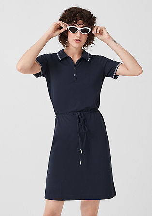 Sporty polo dress from s.Oliver