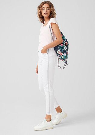 Shape Ankle: hlače s črtami smoking hlač