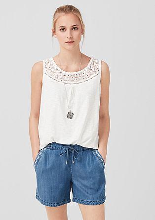 Smart Short: Leichte Denim-Shorts