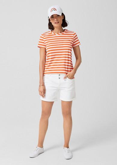 Smart Short: pantalon en twill de s.Oliver