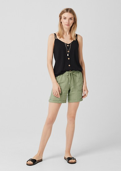 Smart Short: pantalon en lin de s.Oliver