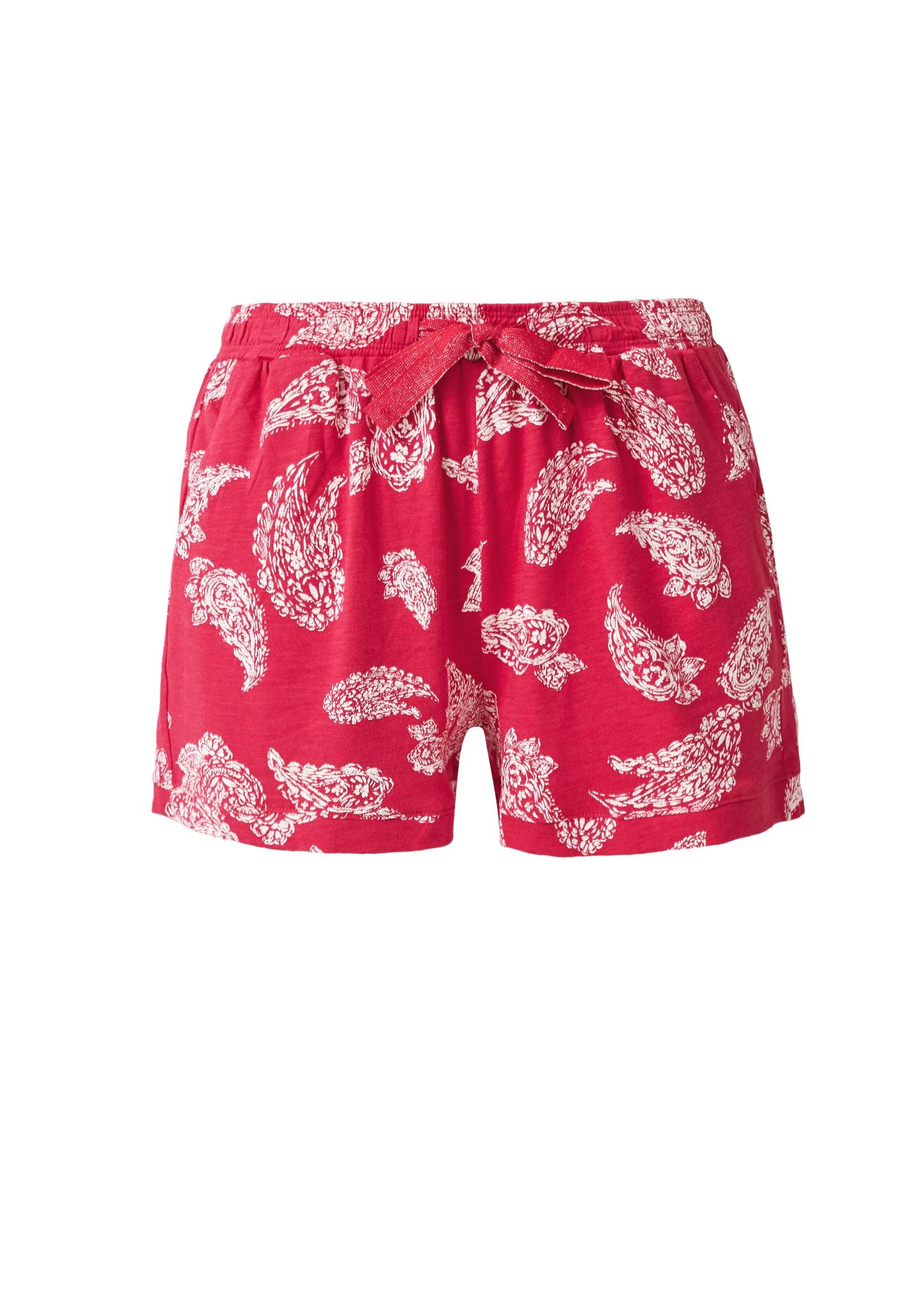 s-Oliver-Casual-Women-Jerseyshorts-mit-Musterprint-Neu Indexbild 20
