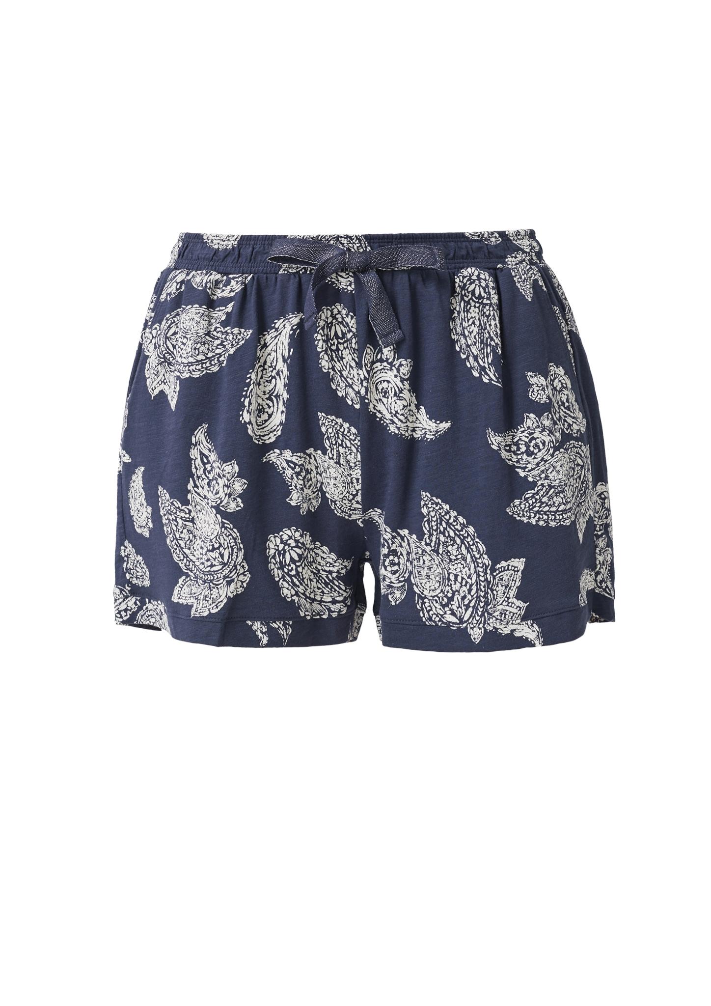 s-Oliver-Casual-Women-Jerseyshorts-mit-Musterprint-Neu Indexbild 5