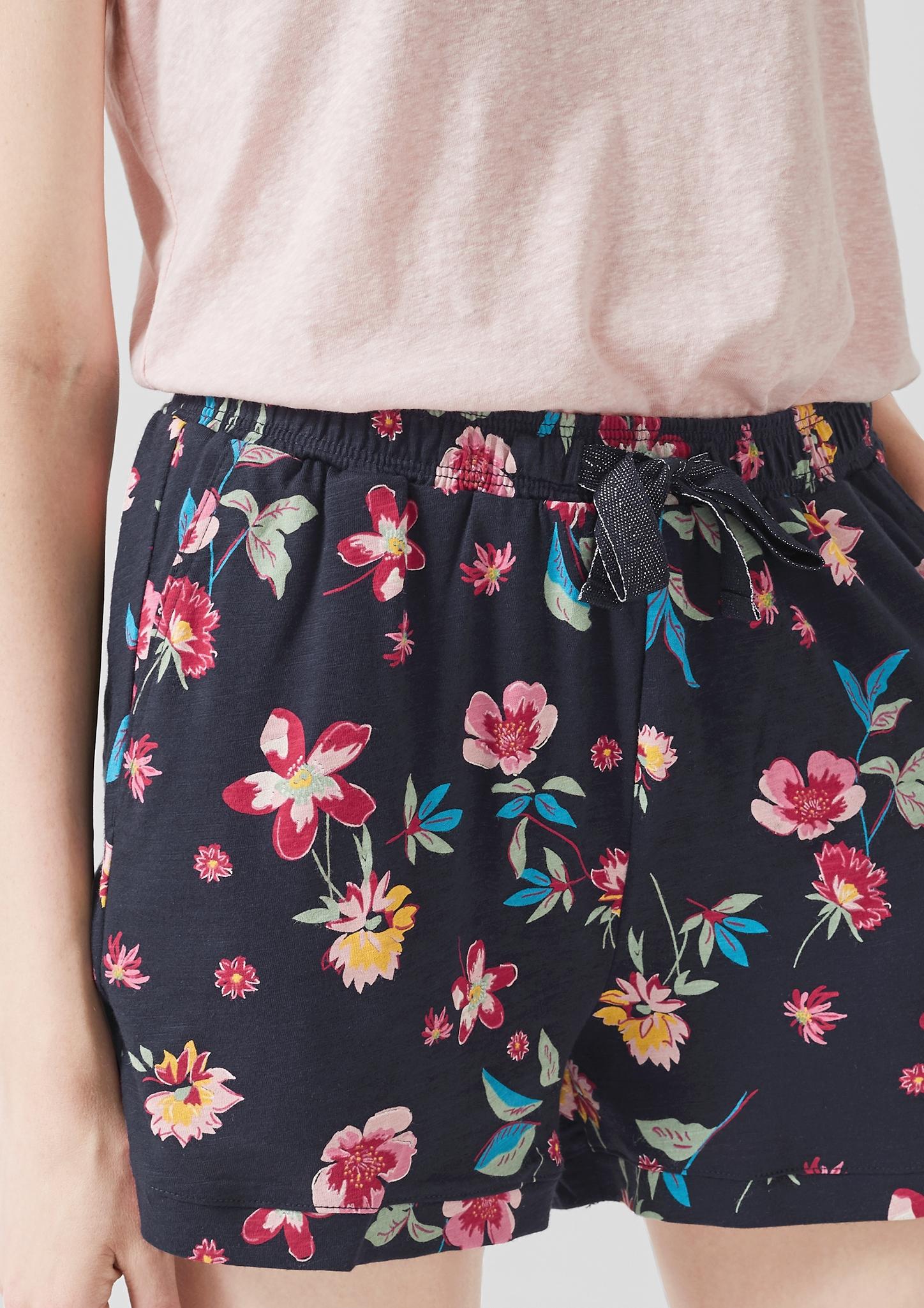 s-Oliver-Casual-Women-Jerseyshorts-mit-Musterprint-Neu Indexbild 16