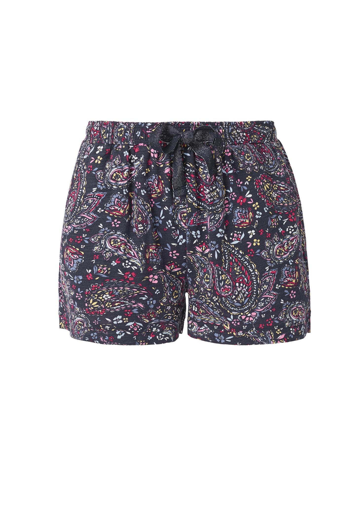 s-Oliver-Casual-Women-Jerseyshorts-mit-Musterprint-Neu Indexbild 10