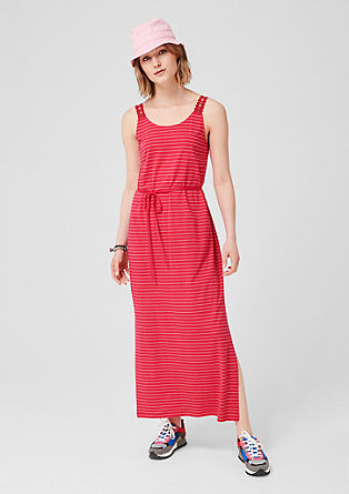 Long striped dress from s.Oliver