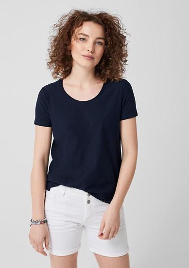Jersey shirt van slubgaren